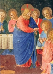 Fra Angelico L'Institution de l'Eucharistie