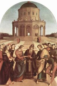 Raphaël : mariage de la Vierge