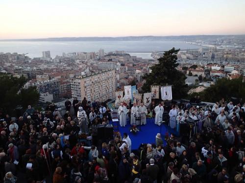 Célébration d'ouverture de l'Année Mariale -le 8/12/2013