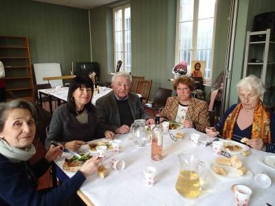 Repas paroissial du 9 fév 14