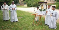 Prière au Parc Valbelle